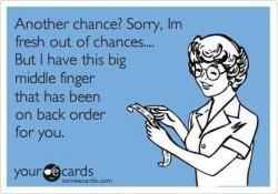 Dear Chump Lady, Why do I keep handing out chances?